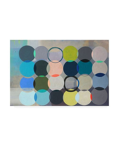 """Trademark Global Naomi Taitz Duff All of Space is Completely Silent Canvas Art - 36.5"""" x 48"""""""