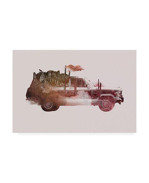 "Trademark Global Robert Farka Drive Me Back Home No. 2 Canvas Art - 19.5"" x 26"""