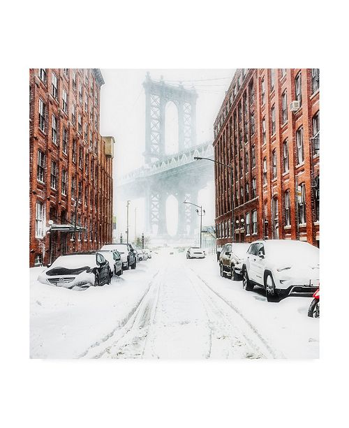 "Trademark Global Bruce Gett The New York Blizzard 2 Canvas Art - 36.5"" x 48"""