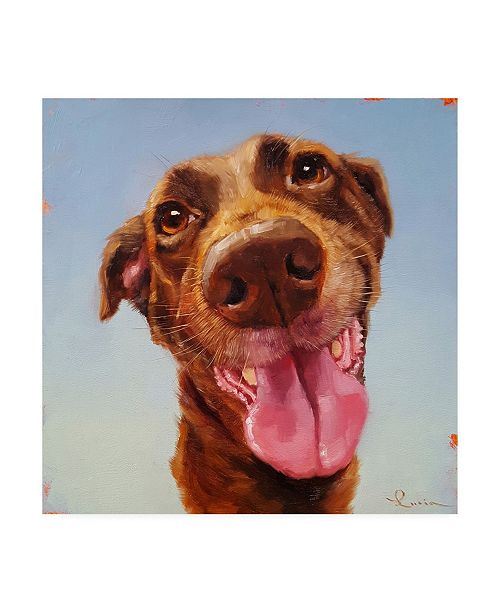 """Trademark Global Lucia Hefferna Follow Your Nose 5 Canvas Art - 36.5"""" x 48"""""""