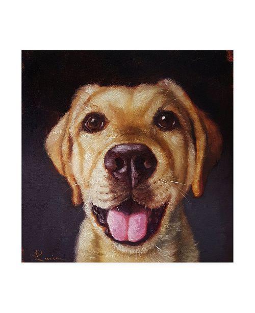 """Trademark Global Lucia Hefferna Follow Your Nose 13 Canvas Art - 15.5"""" x 21"""""""