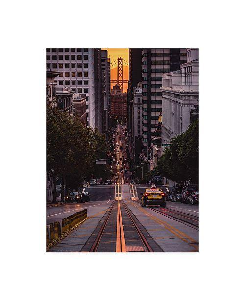 "Trademark Global Bruce Gett The Cab Canvas Art - 36.5"" x 48"""
