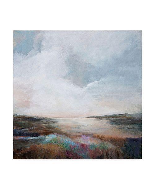 "Trademark Global Karen Hal Solitude Abstract Canvas Art - 15.5"" x 21"""