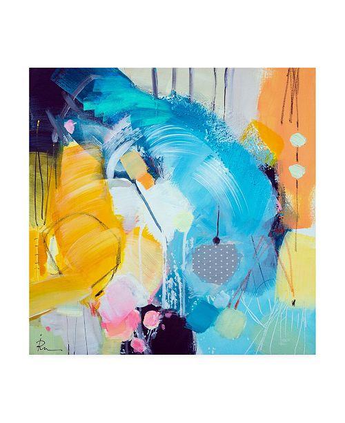 "Trademark Global Ira Ivanov Ira Ivanov Paint Expression Study 8 Canvas Art - 15.5"" x 21"""