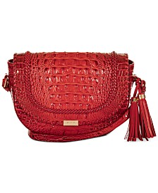 Brahmin Ella Seneca Leather Crossbody
