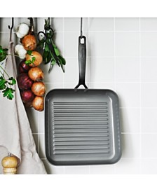 "GreenPan New York Pro 11"" Ceramic Non-Stick Open Square Grill Pan, Created for Macy's"
