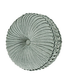 Versailles Spa Tufted Round Decorative Throw Pillow