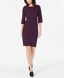 Tulip Sleeve Sheath Dress