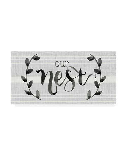 "Trademark Global Jennifer Paxton Parker Our Nest is Blessed I Canvas Art - 15"" x 20"""