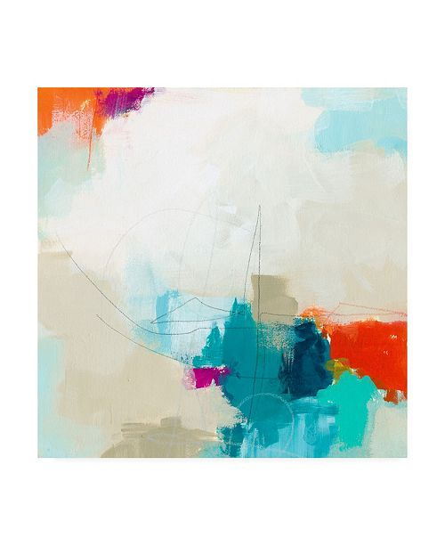 "Trademark Global June Erica Vess Atmospheric IV Canvas Art - 15"" x 20"""
