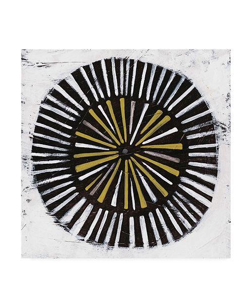 "Trademark Global June Erica Vess Algorithm II Canvas Art - 27"" x 33"""