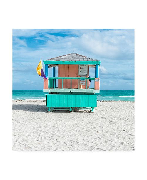 "Trademark Global Richard Silver Miami Beach VI Canvas Art - 27"" x 33"""