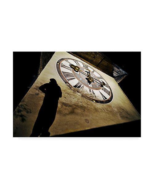 "Trademark Global Dragan Jovancevic About Time Shadow Canvas Art - 20"" x 25"""