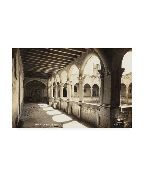 """Trademark Global Unknown Old Mexico III Canvas Art - 20"""" x 25"""""""