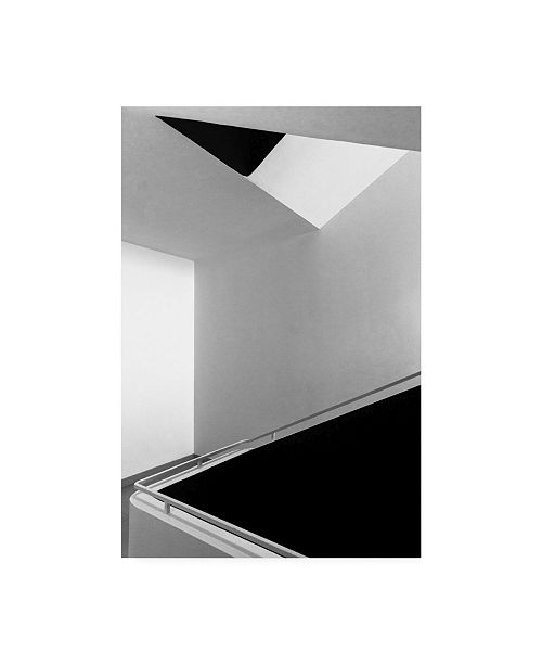 "Trademark Global Olavo Azevedo Black Spaces Canvas Art - 20"" x 25"""