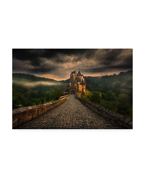 "Trademark Global Krzysztof Browko Fantasy Castle Canvas Art - 20"" x 25"""