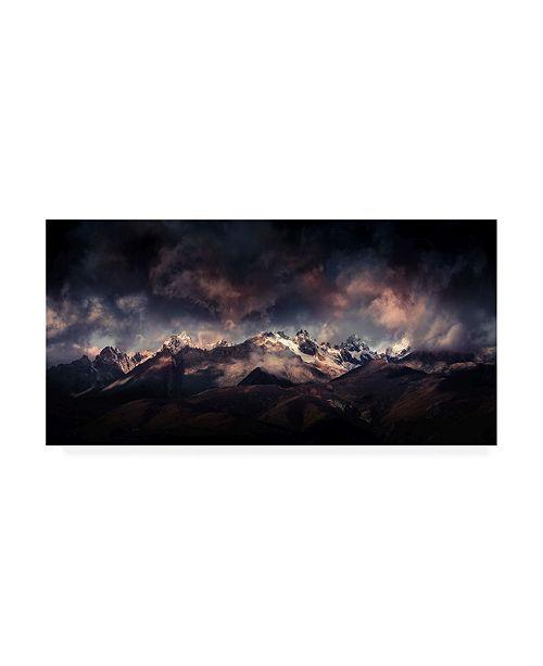 "Trademark Global Qiye Tibet in Wonderlanda Canvas Art - 15"" x 20"""