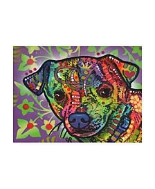 """Dean Russo Farley Stencil Canvas Art - 37"""" x 49"""""""