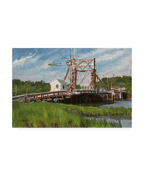 "Trademark Global Michael Budden Manasquan Bridge 2 Canvas Art - 15"" x 20"""