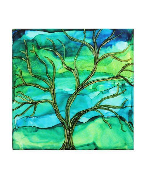 "Trademark Global Michelle Mccullough Healing Tree Canvas Art - 15"" x 20"""