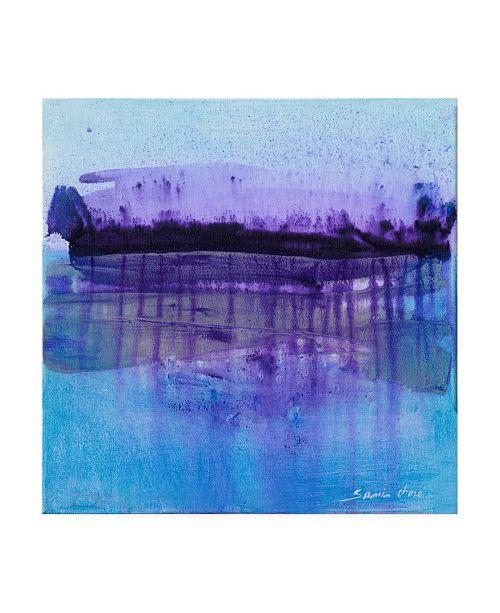 "Trademark Global Masters Fine Art Storm Blue Canvas Art - 15"" x 20"""