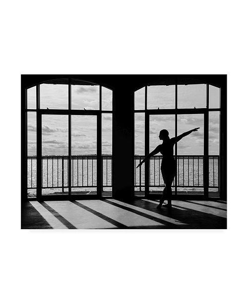 """Trademark Global Monte Nagler Shadow Dancer Interlochen Michigan Canvas Art - 37"""" x 49"""""""