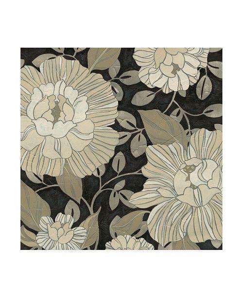 """Trademark Global June Erica Vess Garden Noir II Canvas Art - 27"""" x 33"""""""
