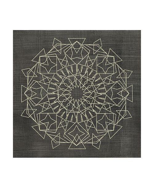 "Trademark Global Chariklia Zarris Geometric Tile I Canvas Art - 15"" x 20"""