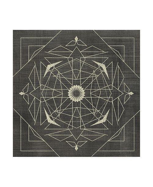 "Trademark Global Chariklia Zarris Geometric Tile IX Canvas Art - 27"" x 33"""
