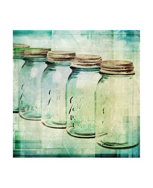 "Trademark Global Irena Orlov Canning Season II Canvas Art - 15.5"" x 21"""