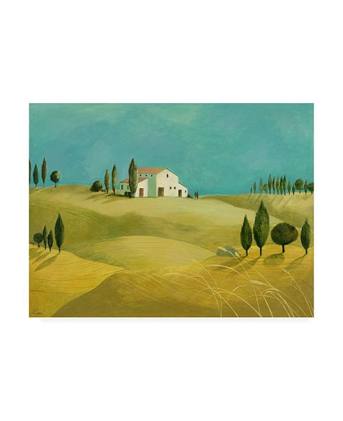 "Trademark Global Pablo Esteban Tuscan Villas Paint 2 Canvas Art - 36.5"" x 48"""