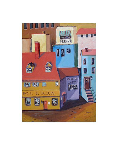 """Trademark Global Patricia A. Reed Hotel St. Jacques Canvas Art - 15.5"""" x 21"""""""