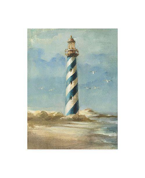 "Trademark Global Danhui Nai Lighthouse I Canvas Art - 15.5"" x 21"""
