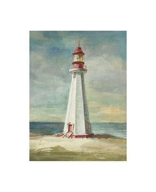 "Trademark Global Danhui Nai Lighthouse III Canvas Art - 27"" x 33.5"""