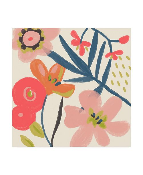 "Trademark Global Chariklia Zarris Lyla Grace I Canvas Art - 15.5"" x 21"""