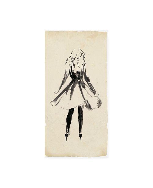 "Trademark Global Melissa Wang Fashion Glimpse I Canvas Art - 19.5"" x 26"""