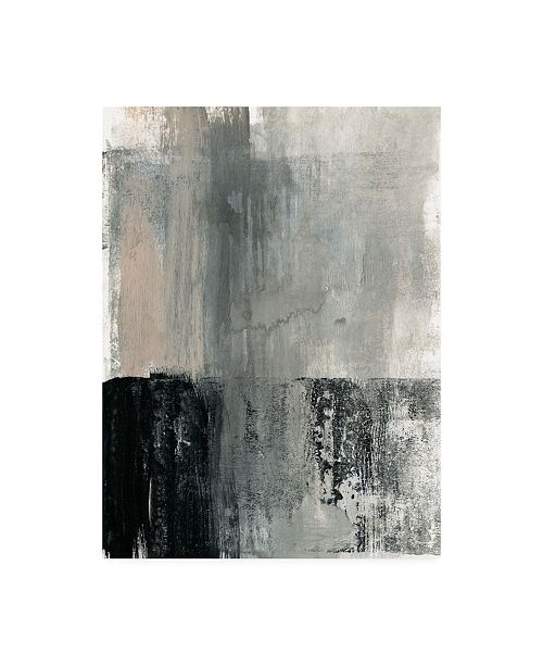 "Trademark Global Jennifer Goldberger Ebony Foundation II Canvas Art - 19.5"" x 26"""
