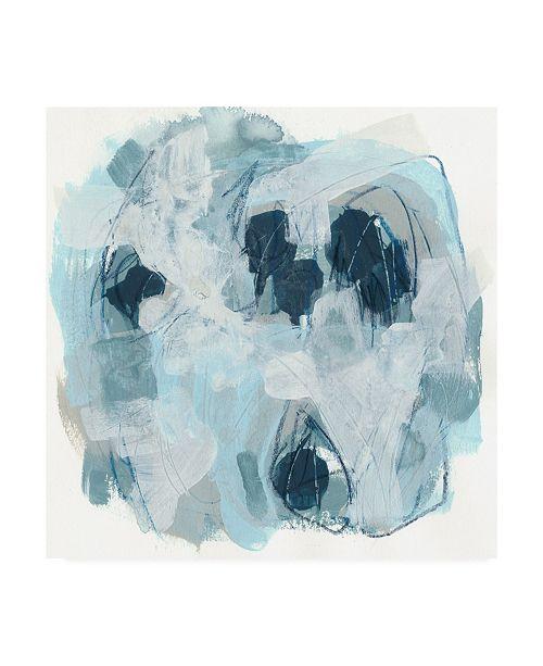"Trademark Global June Erica Vess Blue Storm I Canvas Art - 15.5"" x 21"""