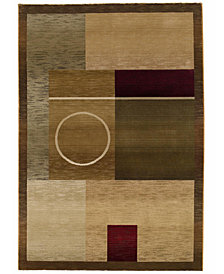 Oriental Weavers Area Rug, Generations Boxed Moon 8' Square
