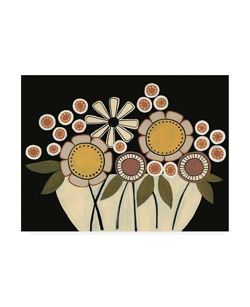 "Trademark Global Regina Moore Summer Garden Floral I Canvas Art - 36.5"" x 48"""