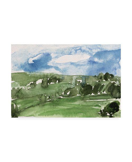 "Trademark Global Melissa Wang Living in the Mountains III Canvas Art - 19.5"" x 26"""