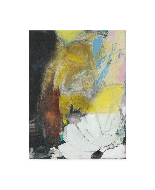 "Trademark Global Jodi Fuchs Abstract Koi Pond I Canvas Art - 19.5"" x 26"""