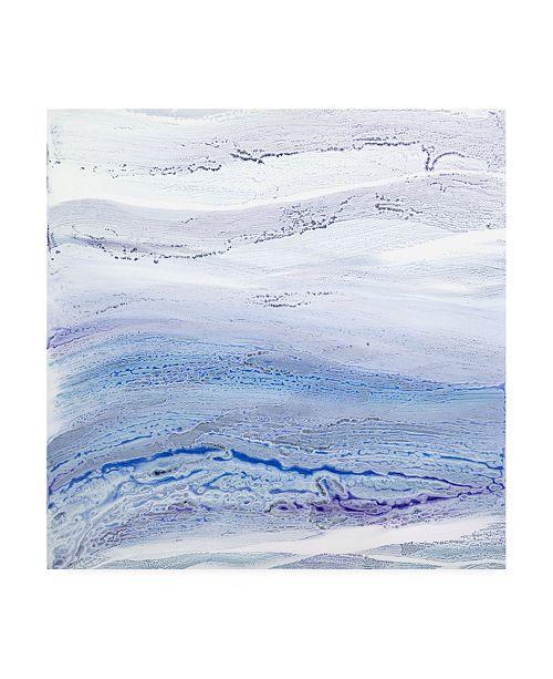 "Trademark Global Teodora Guererra Ultra Violet I Canvas Art - 36.5"" x 48"""