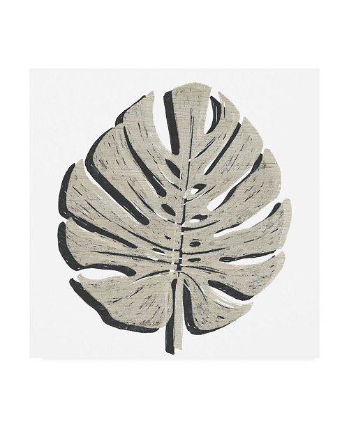 "Trademark Global June Erica Vess Cut Paper Palms I Canvas Art - 36.5"" x 48"""