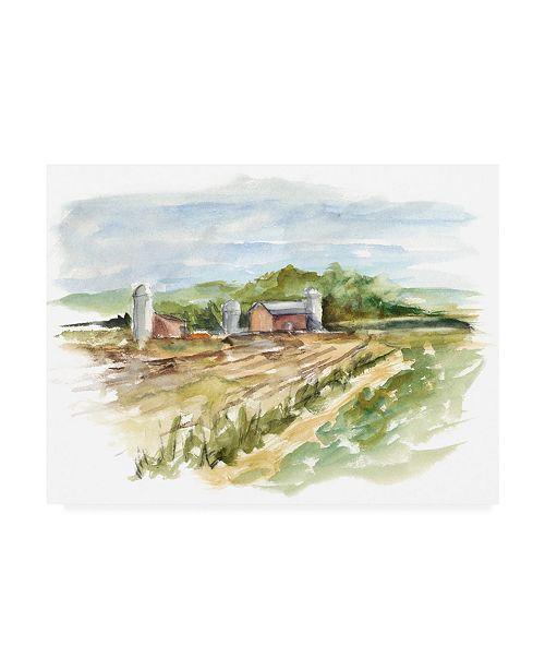 """Trademark Global Ethan Harper Rural Plain Air VI Canvas Art - 36.5"""" x 48"""""""