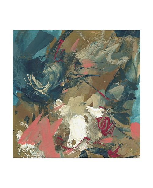 "Trademark Global Melissa Wang Diffusion Abstract I Canvas Art - 15.5"" x 21"""