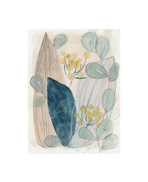 "Trademark Global June Erica Vess Terra Garden I Canvas Art - 19.5"" x 26"""