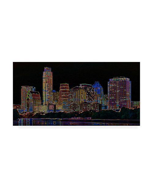 "Trademark Global Ellicia Amando Auston Glowing Canvas Art - 15.5"" x 21"""
