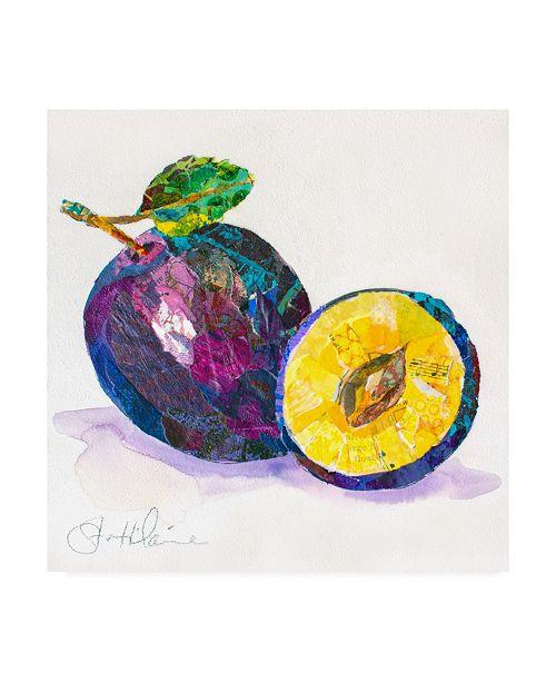 "Trademark Global Elizabeth St. Hilaire Edibles I Canvas Art - 15.5"" x 21"""