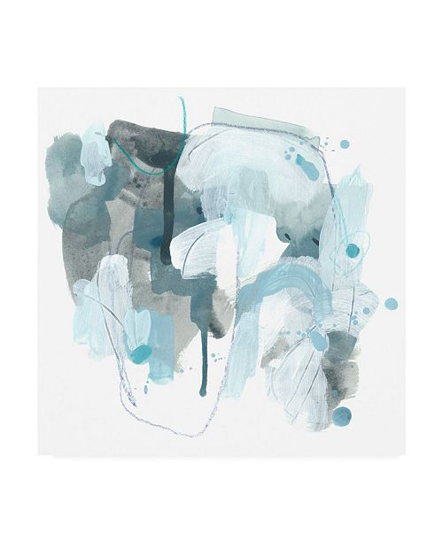 "Trademark Global June Erica Vess Liquid Notation IV Canvas Art - 36.5"" x 48"""